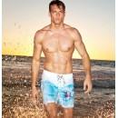 Пляжные шорты-бермуды