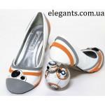 Каблуки в виде BB-8 из «Звёздных войн» - последние интересные новости на сегодня на сайте супермаркета : интернет магазина одежды и обуви «Элегант» в Сумах (Украина) - каталог обуви моды (смотреть онлайн бесплатно видео и фото обувь будущего)