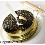 Морепродукты : икра черная осетра 500 грамм