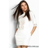 Платье : Женственное платье перфорация