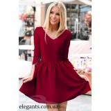 Платье : Платье на шнуровке