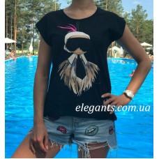 Женская футболка FENDI (Italy) черная, купить на сайте супермаркета - интернет магазин одежды и нижнего белья «Элегант» Сумы (Украина) - каталог женской одежды Фенди (Италия) коллекции моды (смотреть онлайн видео и фото девушки топ модели)