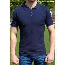 Синяя мужская поло рубашка LACOSTE (FRANCE), купить футболки на сайте супермаркета - интернет магазин одежды «Элегант» Сумы (Украина) - каталог одежды Лакост (Франция) коллекции моды (смотреть онлайн видео и фото девушки топ модели)