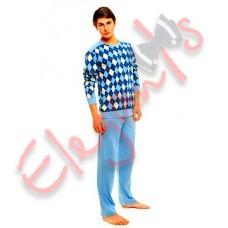 Купить недорого домашнюю одежду: пижама мужская - домашний костюм, от компании Natalux (Украина) из класса ткани : хлопок, в Сумах (Украина) - коллекция моды сезона 2014 года (смотреть онлайн бесплатно фото)