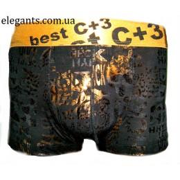 Трусы-шорты мужские C+3
