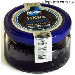 Морепродукты : икра Палтуса с/б 100 грамм