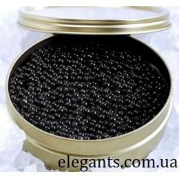 Морепродукты : икра черная белуги 250 грамм