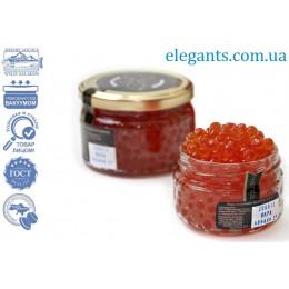 Морепродукты : икра лососевая Симы 250 грамм