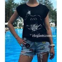 Женская футболка CHANEL (Франция)
