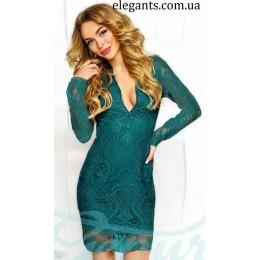 Платье : Коктейльное платье декольте
