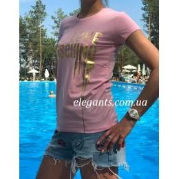 A Женская футболка MOSCHINO
