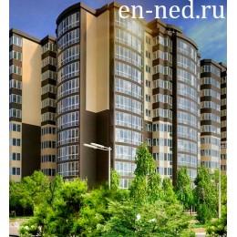 """Недвижимость новостройки ЖК """"Набережный квартал"""" 1 ком квартира Тип 15"""