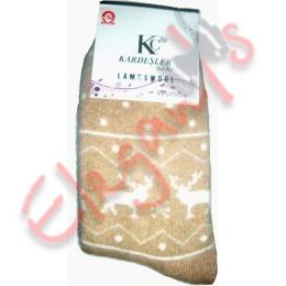 Женские носки из шерсти ламы