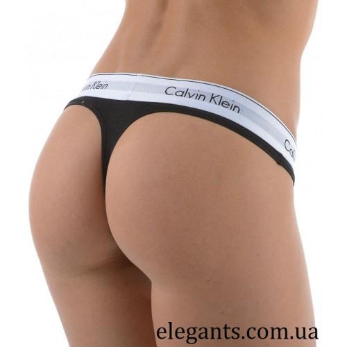 Стринги черного цвета «Calvin Klein» (USA), купить женские трусы на сайте 24e50ee45b9