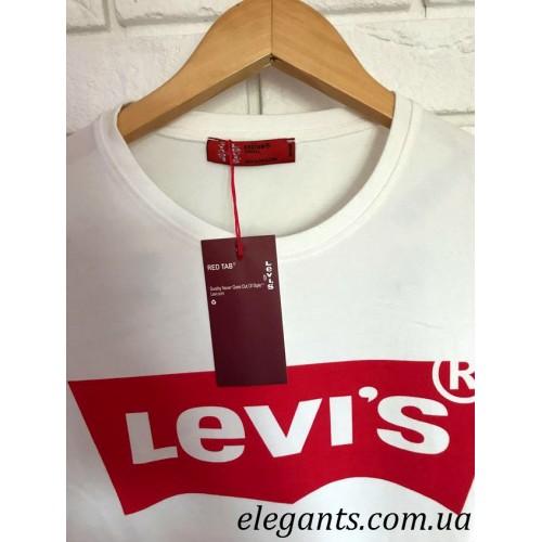 a00306ea420 ... Белая женская футболка Levi s (USA)