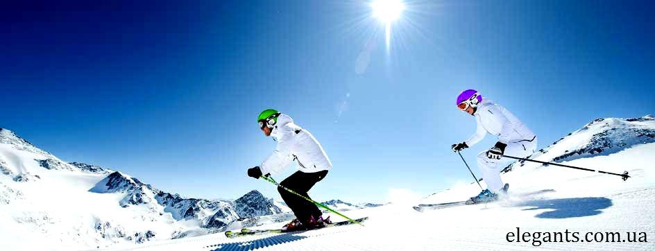"""Где можно купить онлайн: термоноски для катания на горных лыжах? Купить недорого: термоноски  из хлопка, для зимнего отдыха - катания на горных лыжах, можно в Сумах (Украина) интернет магазине нижнее белье и спортивная одежда """"Элегант"""" коллекция мода спортивной одежды сезона 2014 года (смотреть онлайн бесплатно фото : зимний отдых на горных лыжах)"""